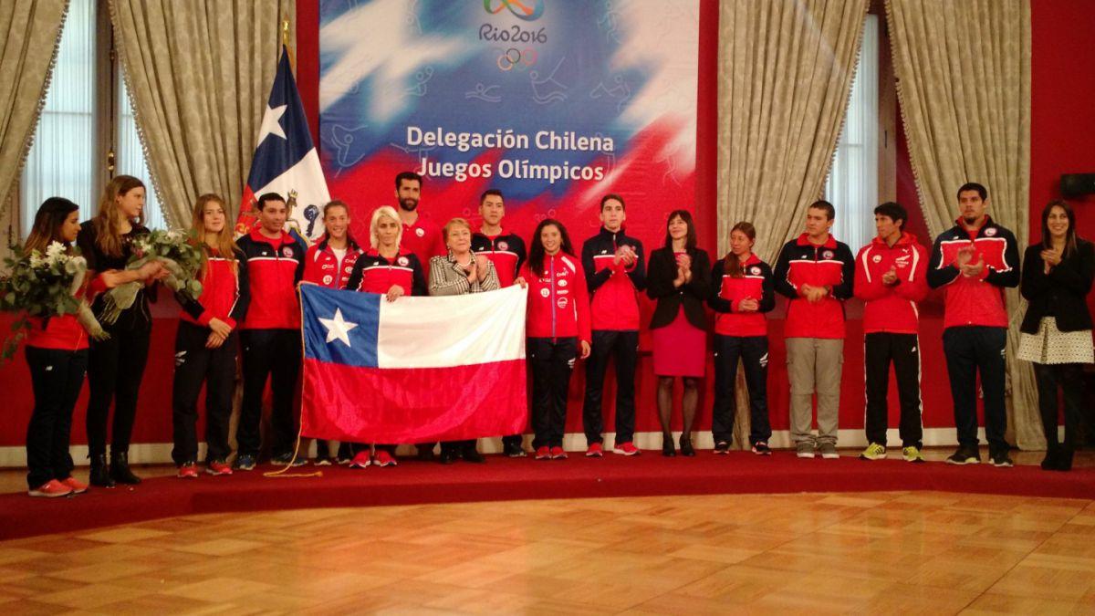 Érika Olivera es elegida como abanderada de Chile para los Juegos Olímpicos Río 2016