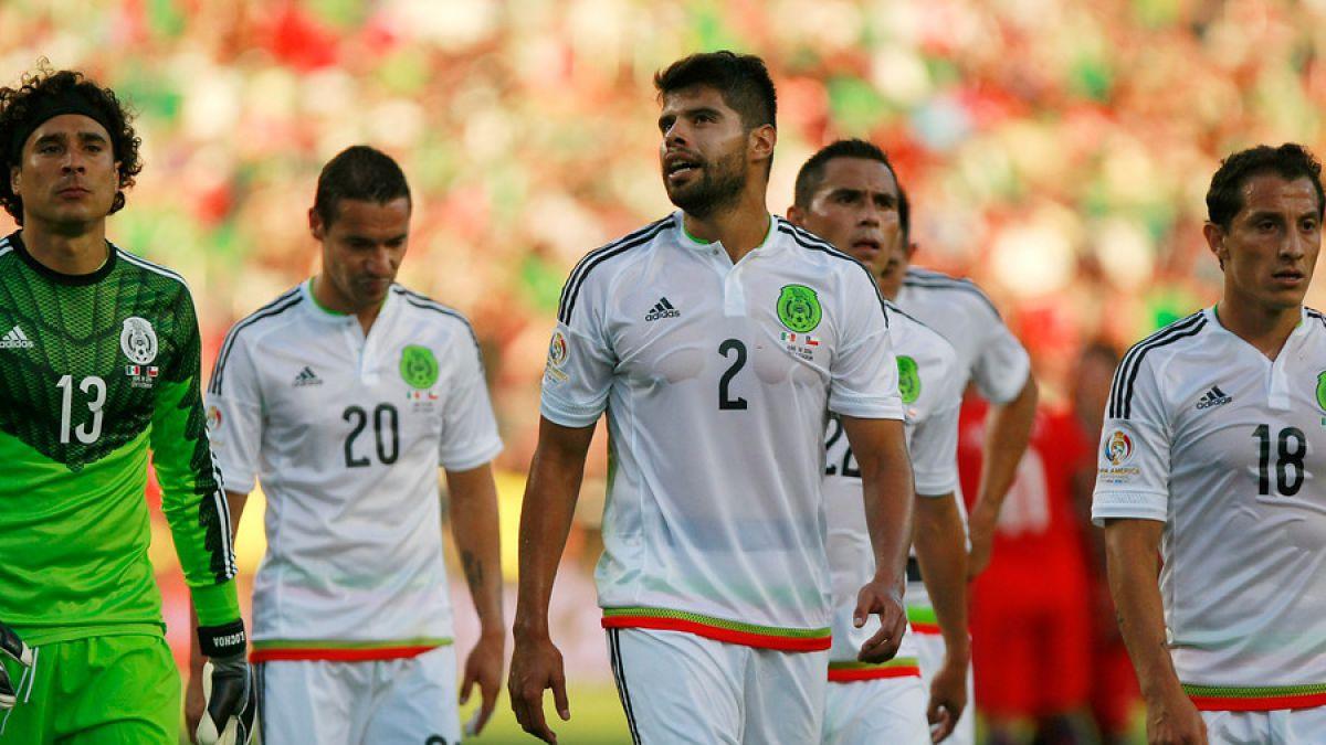 Revelan la tensa interna del camarín de México tras 7-0 de La Roja
