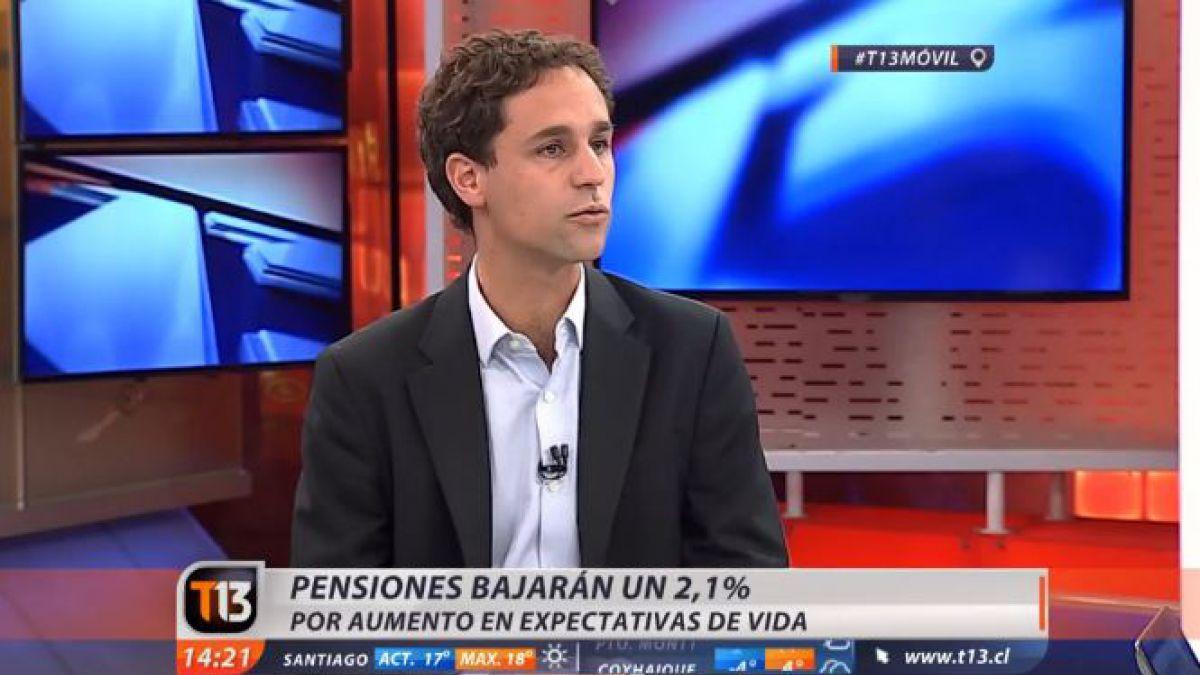 ¿Por qué las pensiones bajarán un 2,1%?: gerente de la asociación de AFP lo explica