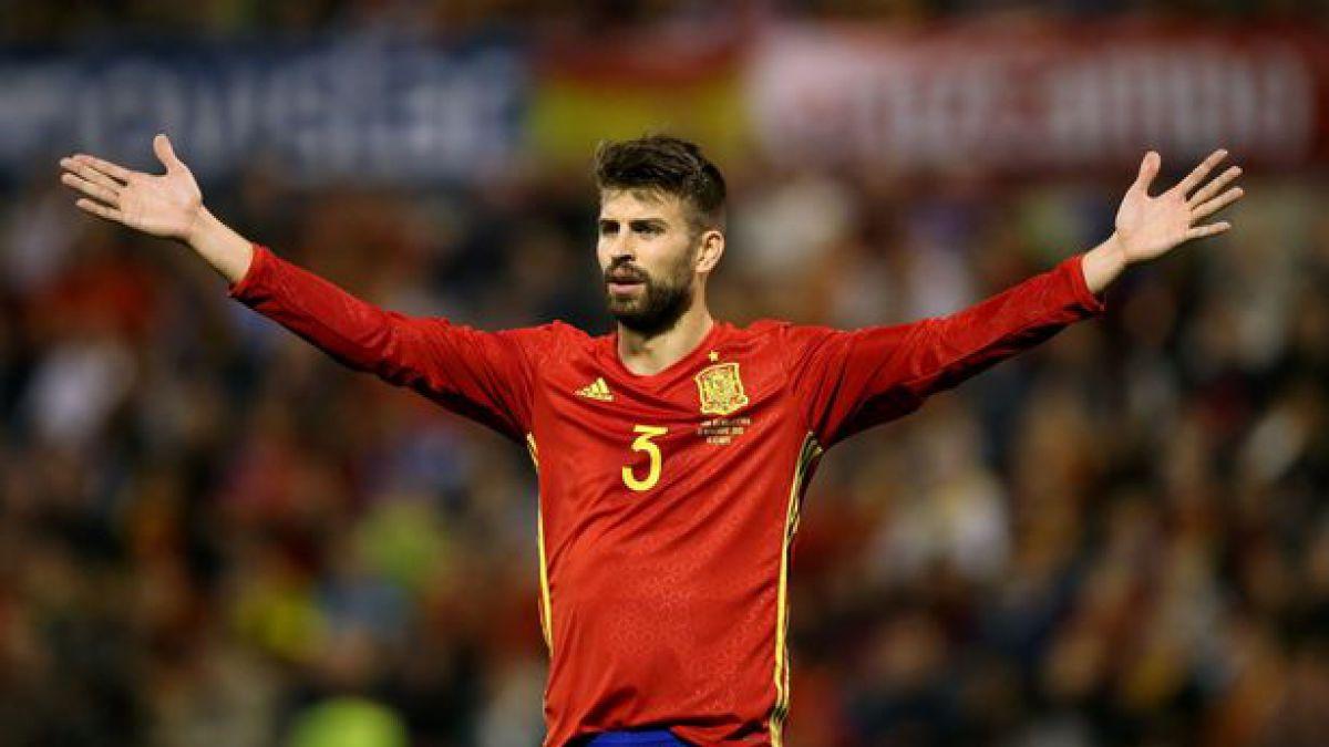 El polémico gesto de Gerard Piqué durante el himno que ha causado revuelo en toda España