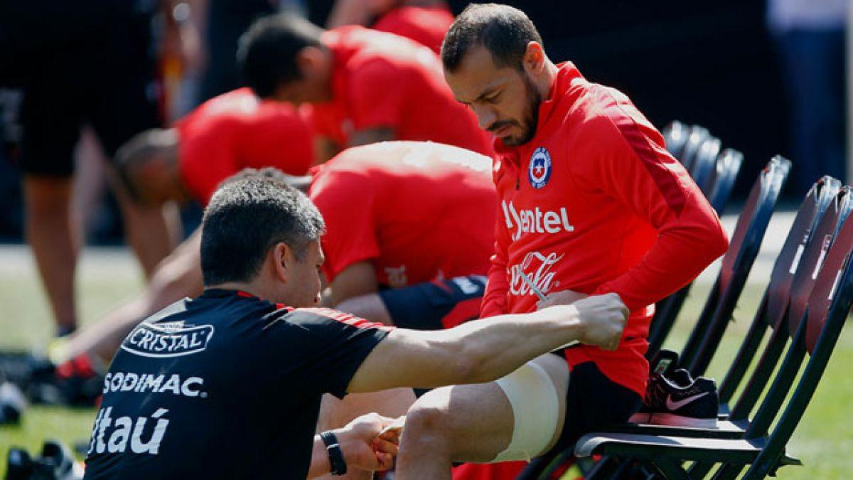 Marcelo Díaz es la gran duda que mantiene Pizzi para el duelo ante Colombia