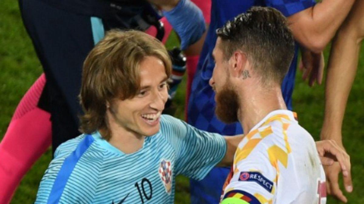Modric traiciona a Sergio Ramos al revelar a su arquero cómo tiraría el penal en España-Croacia