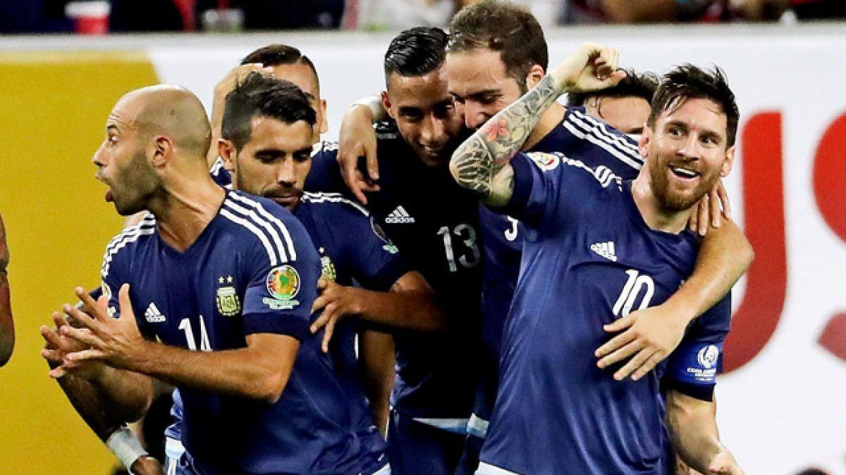 Argentina golea al anfitrión Estados Unidos y se instala en la final de la Copa Centenario