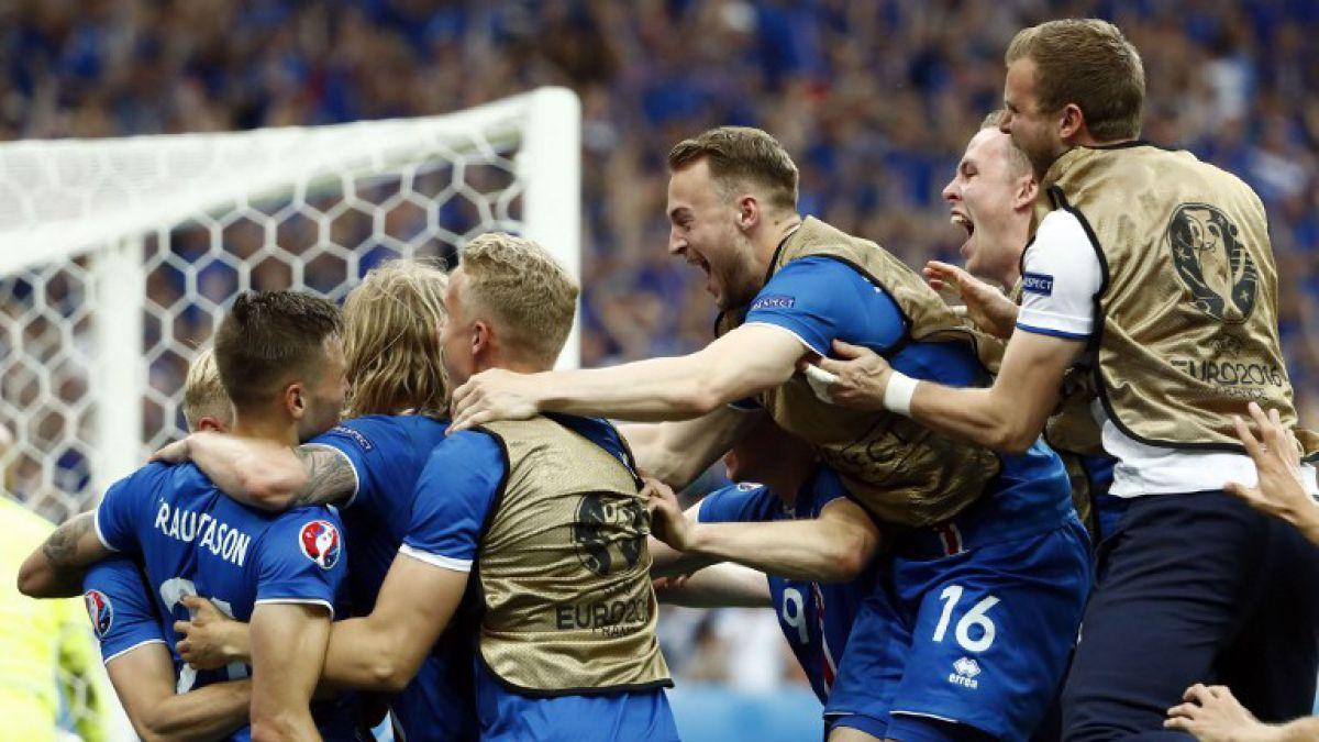El desatado grito de gol de relator islandés con clasificación de su selección
