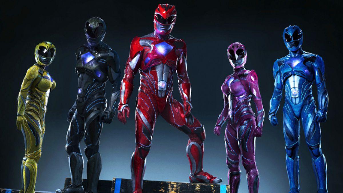 poster pelicula power rangers