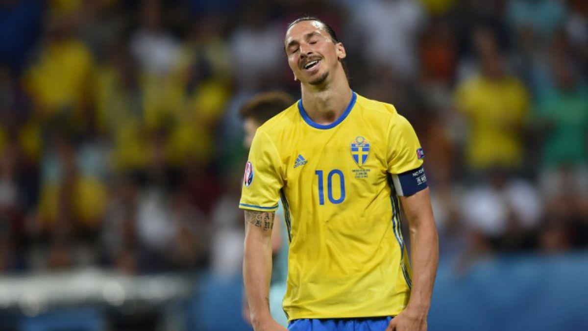Suecia eliminada de la Euro y sentencia adiós de Zlatan de la selección