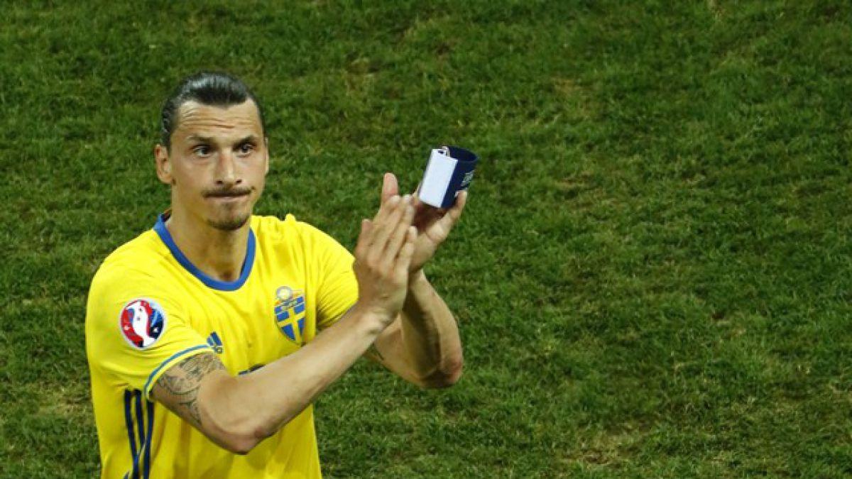 Fin a una historia: Ibrahimovic vive su último partido con Suecia tras eliminación en la Eurocopa