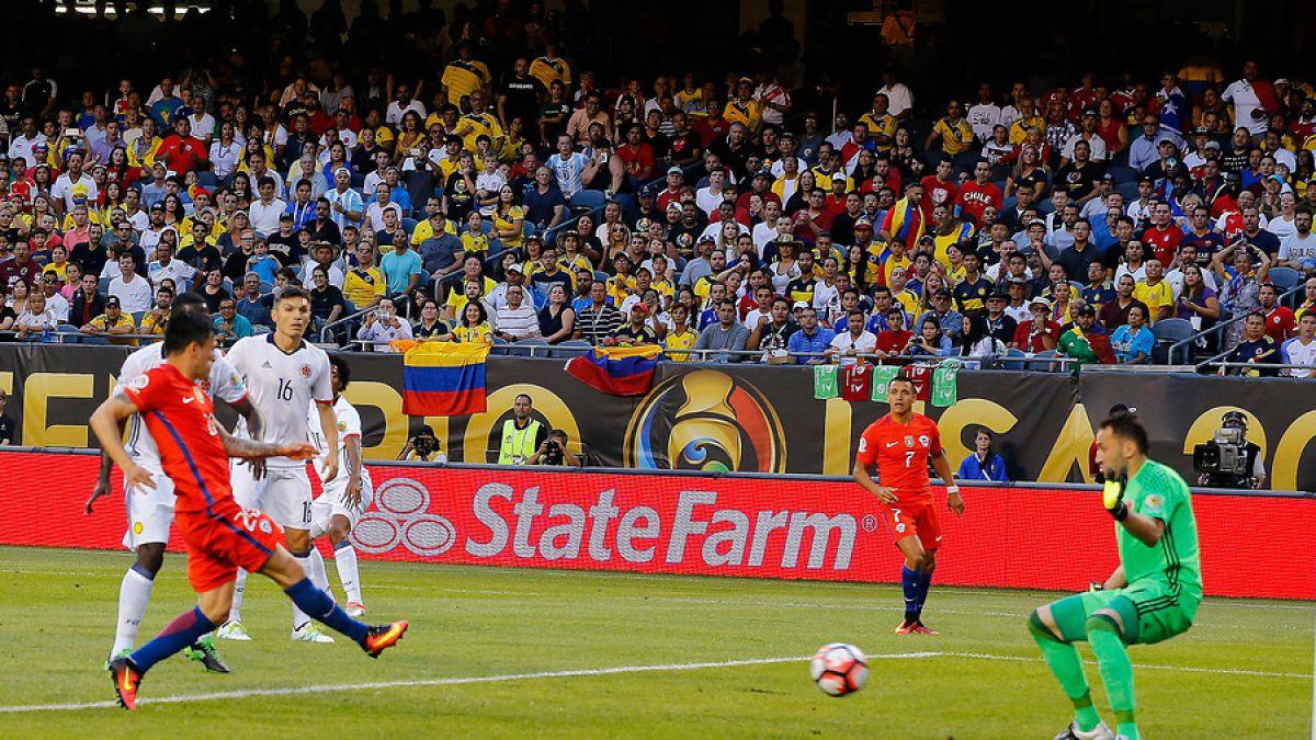 [VIDEO] Revive todos los goles del partido Chile-Colombia en la Copa América Centenario