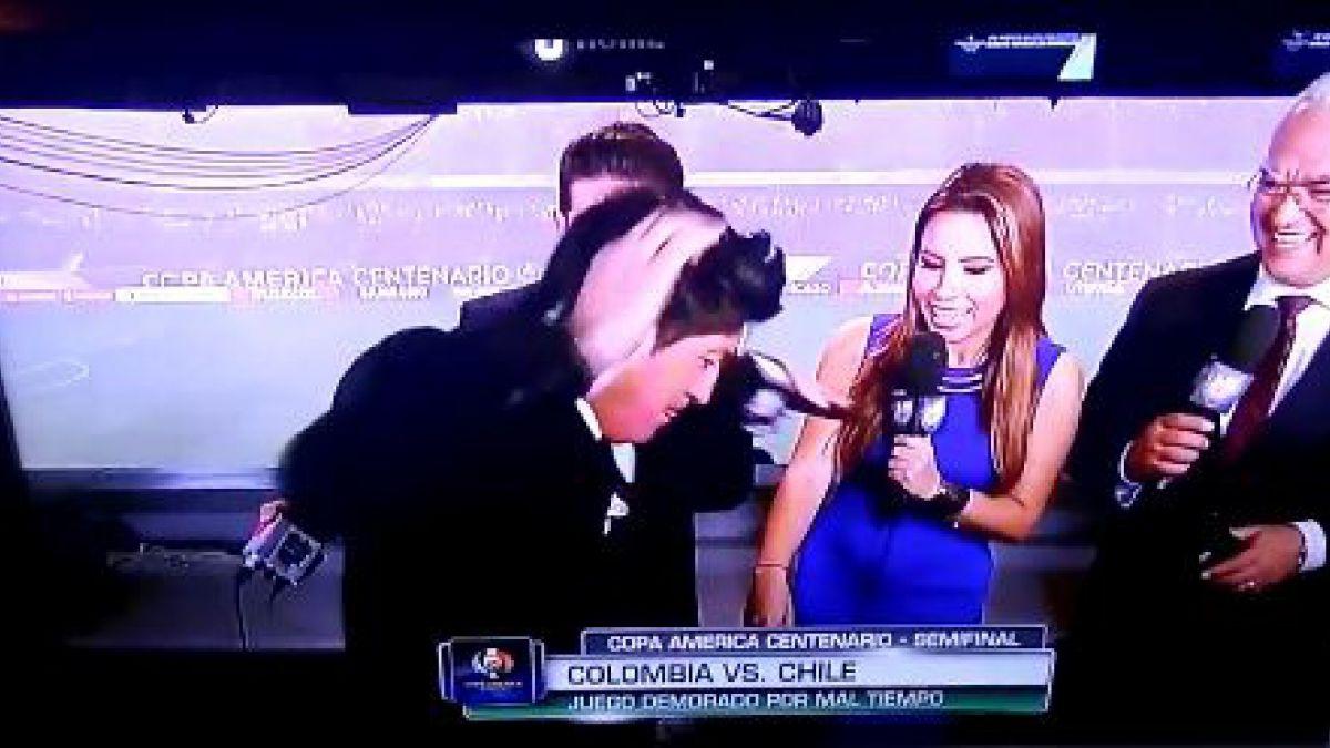 Iván Zamorano sorprende y se luce bailando una particular cueca en plena transmisión de TV