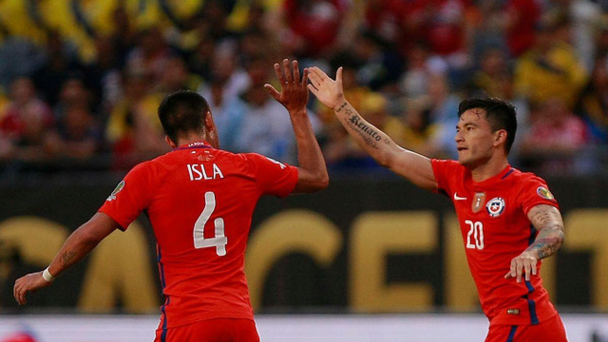 """Charles Aránguiz palpita la final de la Copa Centenario: """"Llegan los dos mejores"""""""