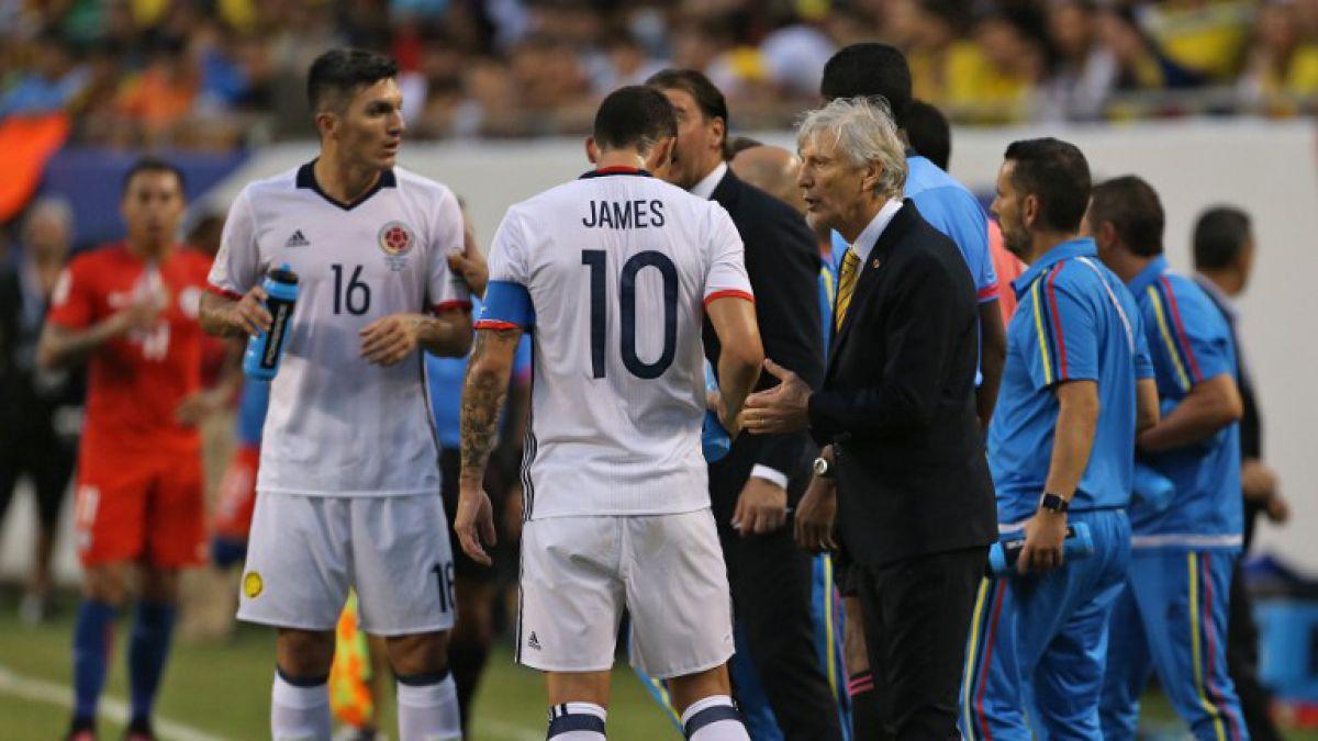 """DT de Colombia tras caer en semis: """"Chile mostró contundencia y lo felicito por el triunfo"""""""