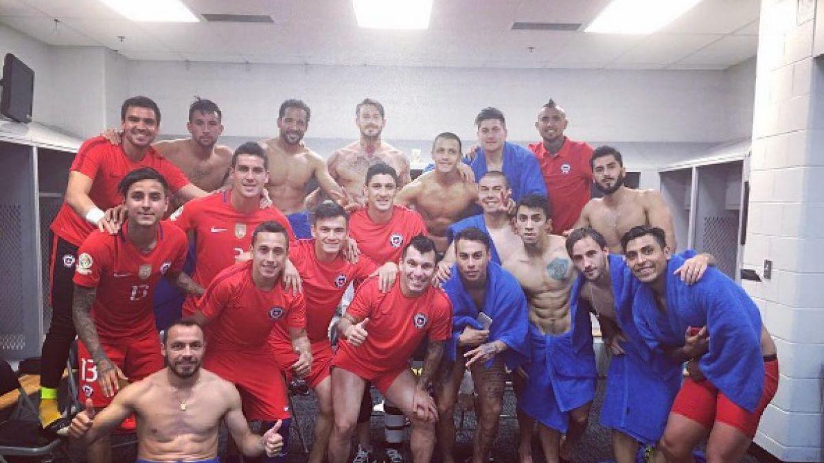"""Así festejaron los jugadores de """"La Roja"""" en redes sociales tras el paso a la final"""