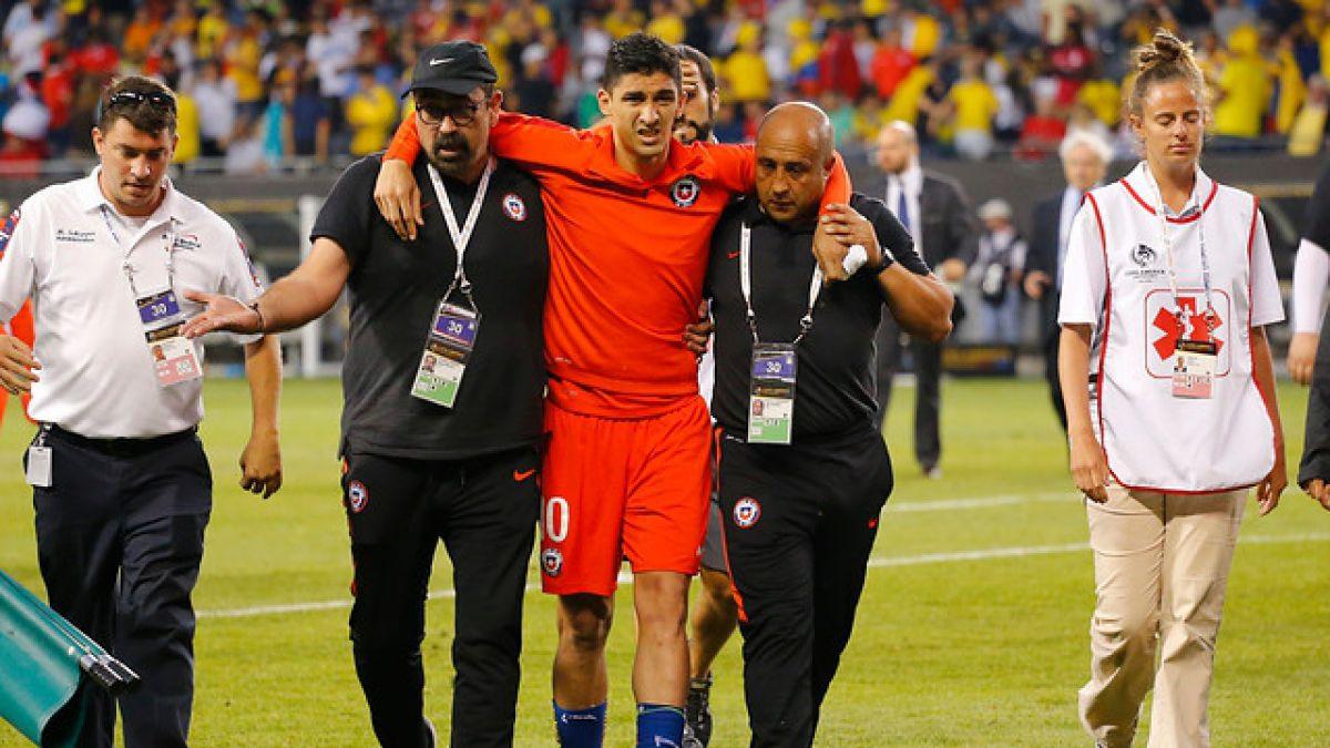 [VIDEO] Pedro Pablo Hernández sufre complicada lesión y se pierde final de la Copa Centenario