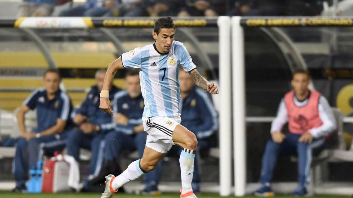 Final Copa Centenario: En Argentina anuncian que Di María sería titular ante Chile