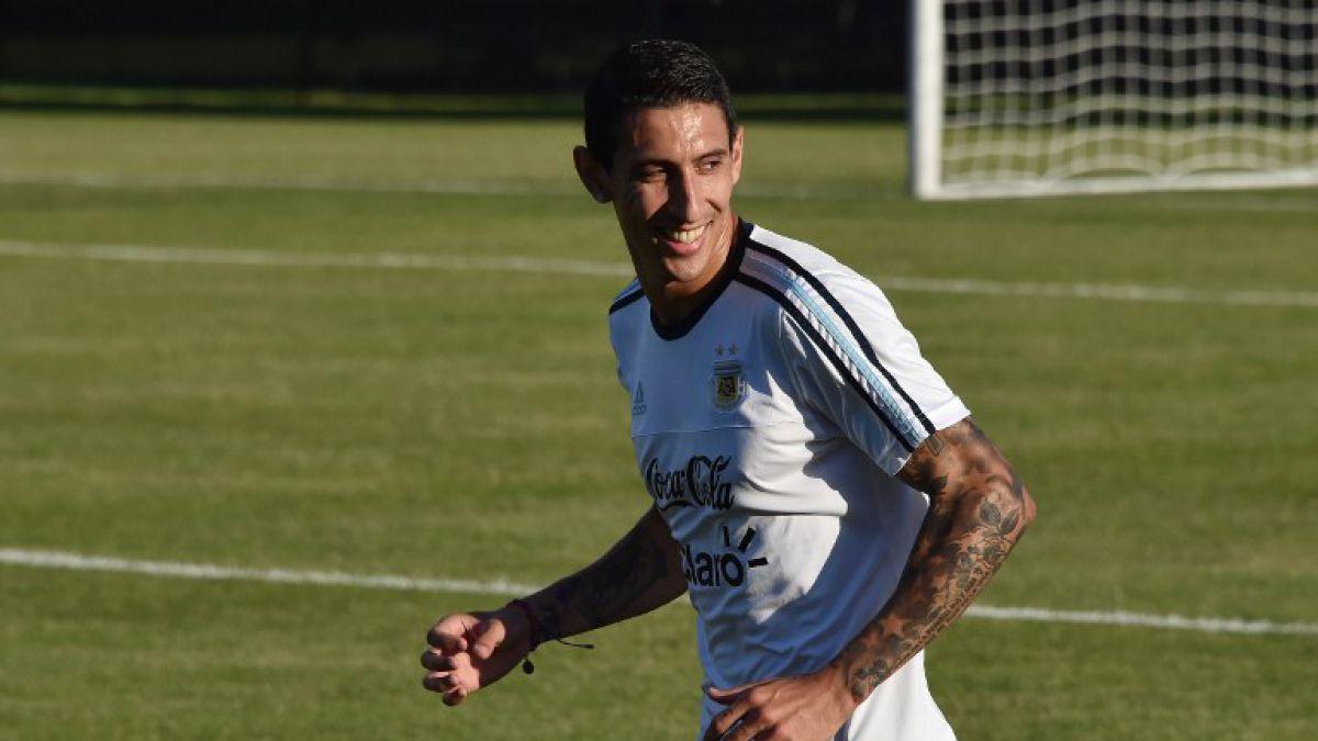 Último entrenamiento de Argentina: Ángel Di María es incluido en el equipo titular