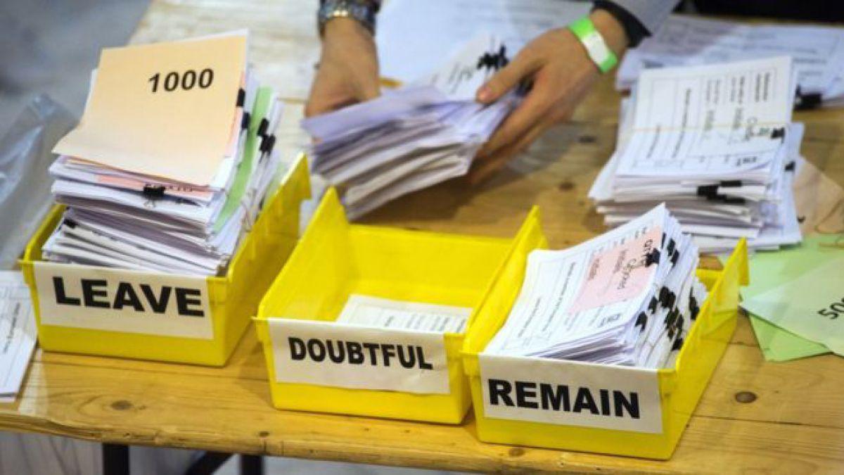 El Brexit gana el referendo: Reino Unido elije salir de la Unión Europea. ¿Qué pasa ahora?