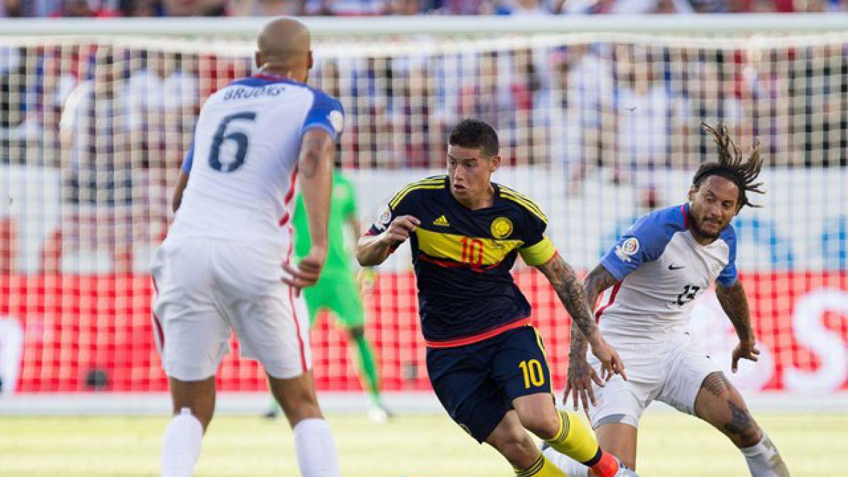 Estados Unidos y Colombia van por el tercer lugar de la Copa América Centenario