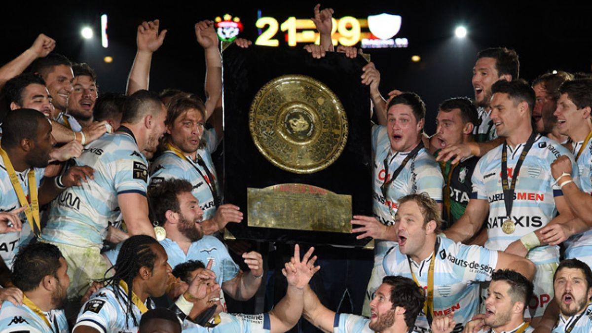 Rugby: Dan Carter conquista el Camp Nou y el Racing 92 gana el título francés