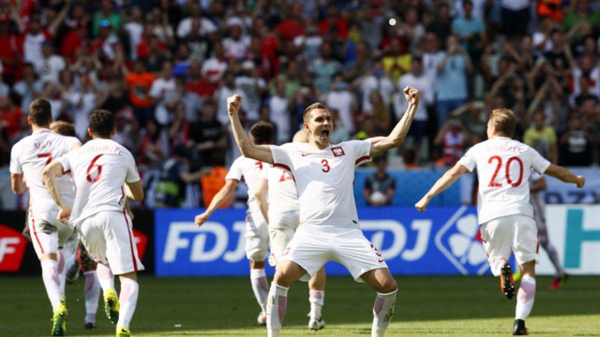 Polonia avanzó a cuartos de Euro 2016 tras eliminar a Suiza en penales