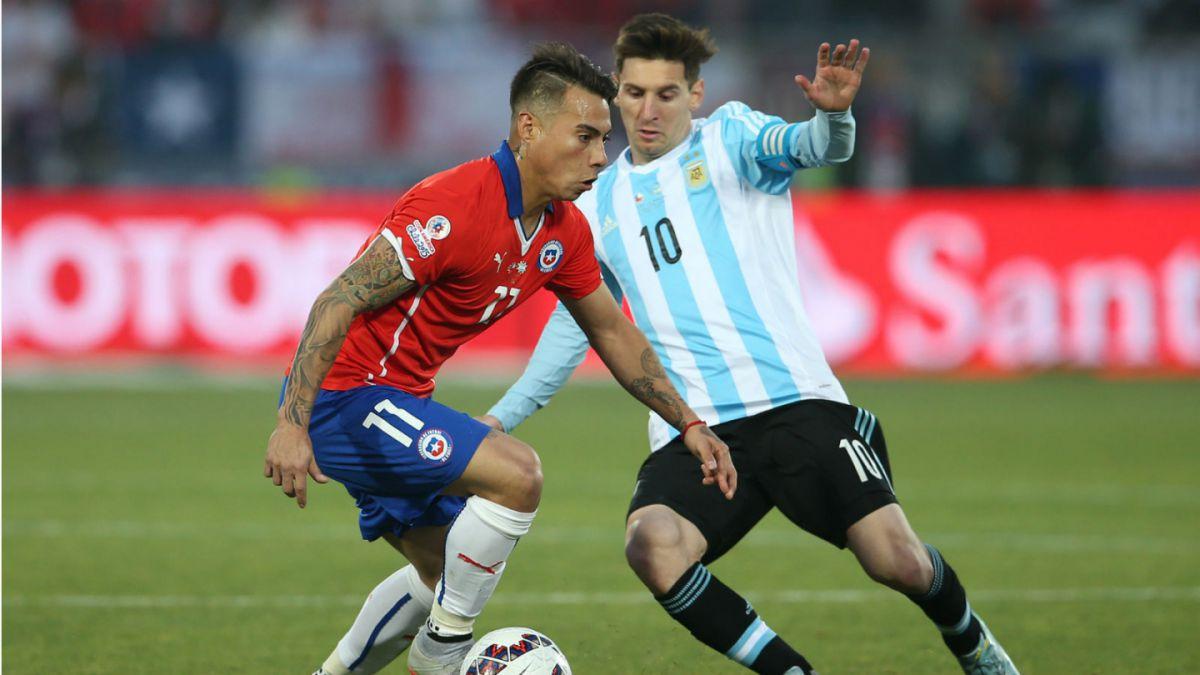 Del 2015 al 2016: Los cambios en las formaciones de Chile y Argentina en las finales de Copa América