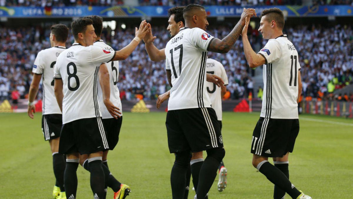 Alemania supera a Eslovaquia y se instala en cuartos de final de la Euro 2016