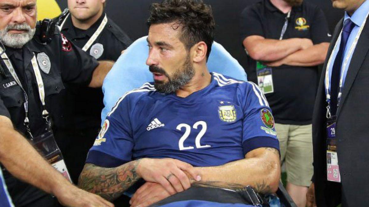 El inesperado mensaje de Ezequiel Lavezzi de cara a la gran final de la Copa América Centenario