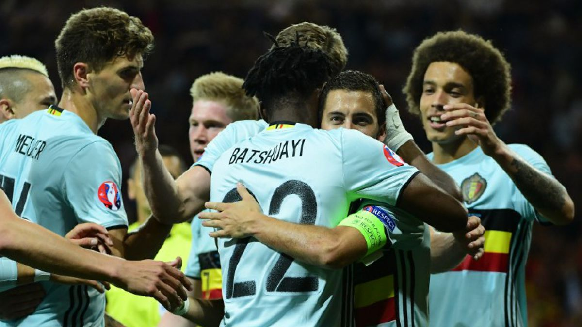 Bélgica golea a Hungría y se mete en cuartos de la Eurocopa