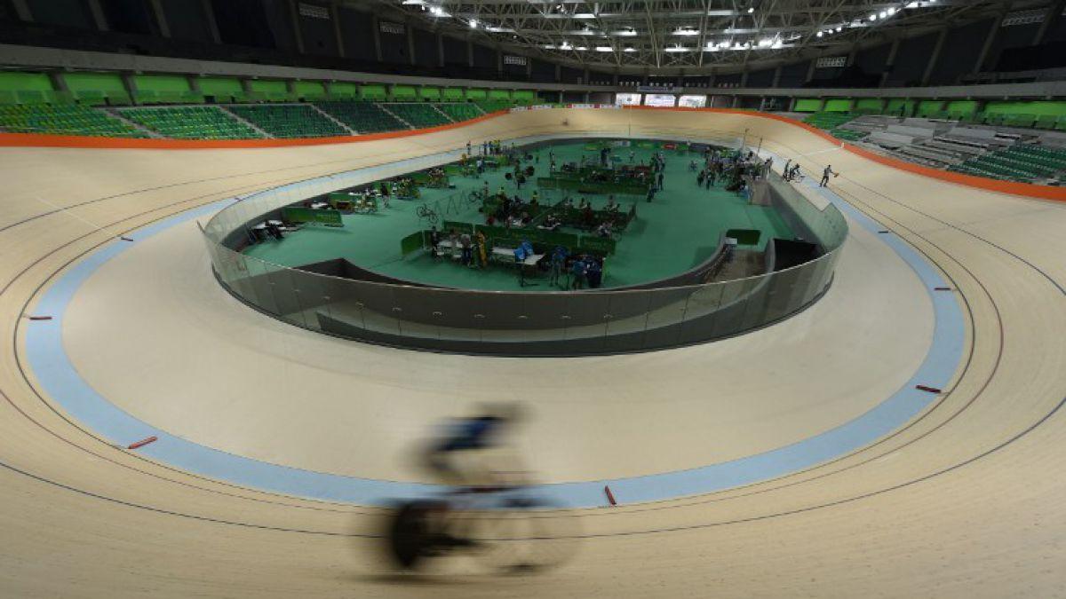 Alcaldía de Rio inaugura el velódromo olímpico aún sin terminar