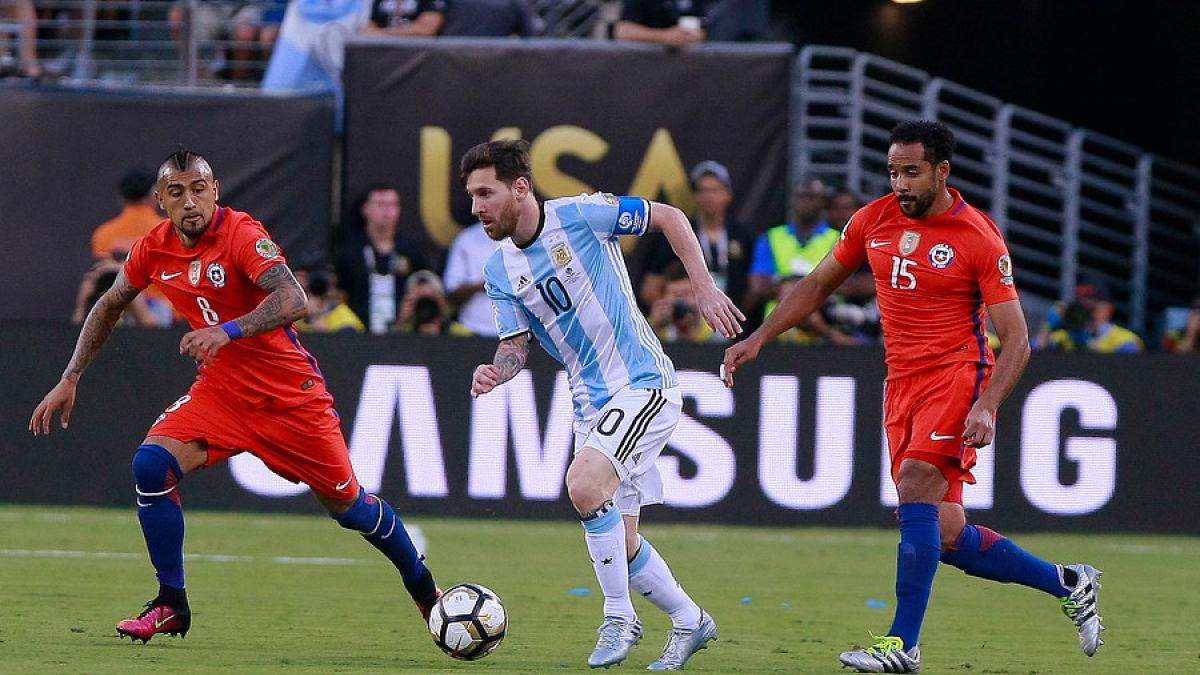 Argentina pierde su 3ra final consecutiva | Chile bicampeón