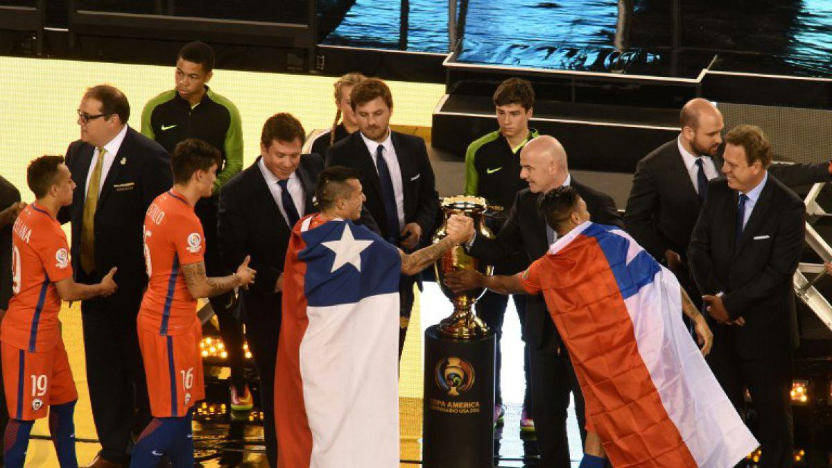 Los otros premios que ganó La Roja en la Copa América Centenario