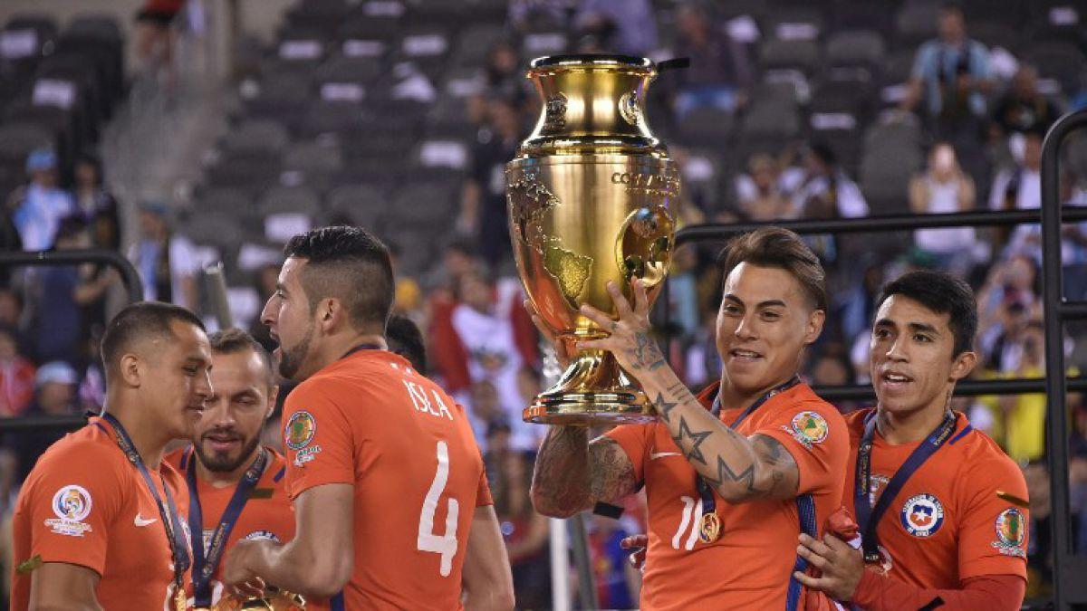 """Eduardo Vargas al ganar la Copa: """"Somos un grupo histórico para el fútbol chileno"""""""