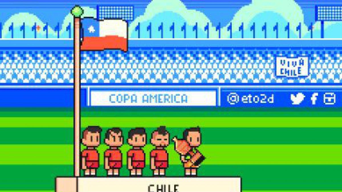 Los mejores gifs del triunfo de Chile en la Copa Centenario