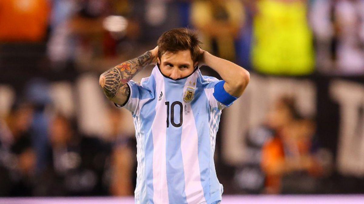 Lionel Messi renuncia a la selección de Argentina: No es para mí
