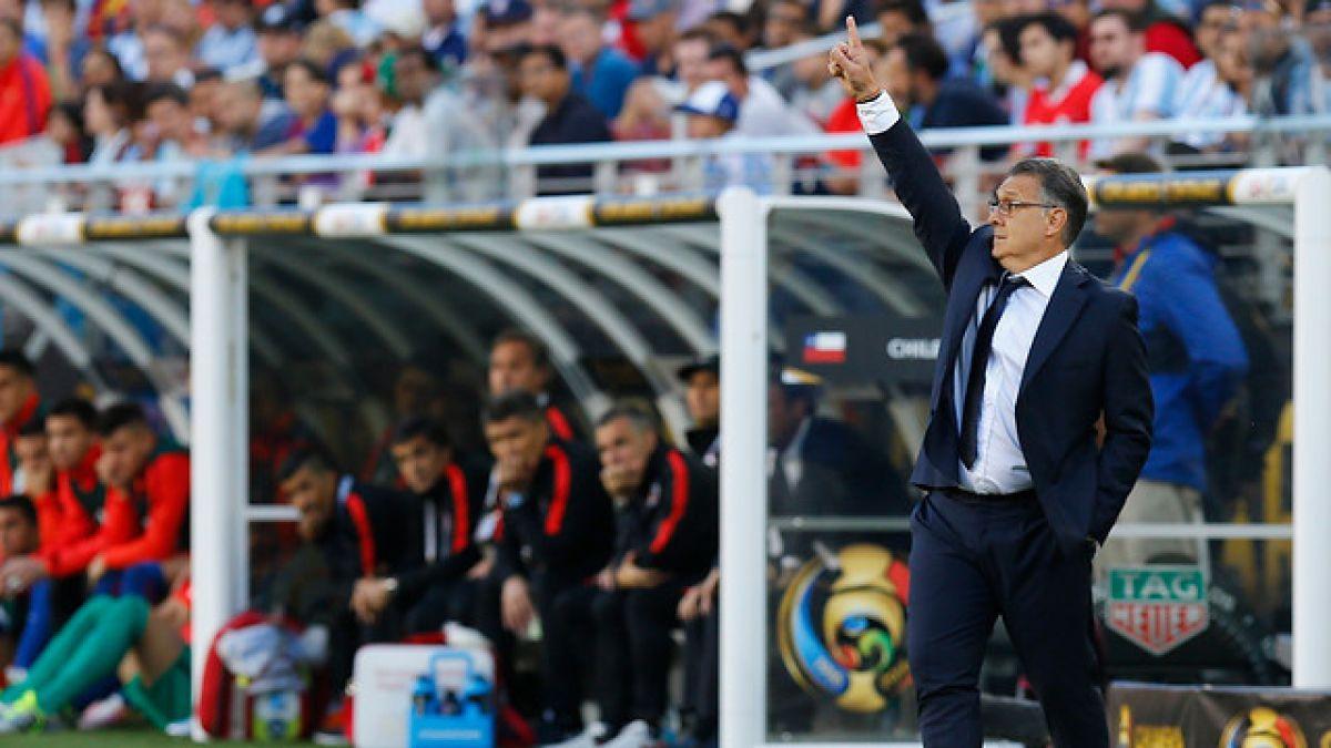 """Gerardo Martino: """"Creo que Argentina debió haberlo ganado en los 90 minutos"""""""