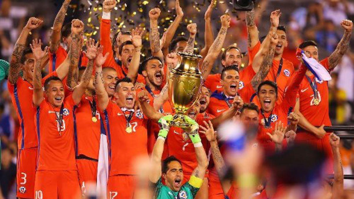 Así quedó el ranking histórico de campeones de América con el triunfo de Chile