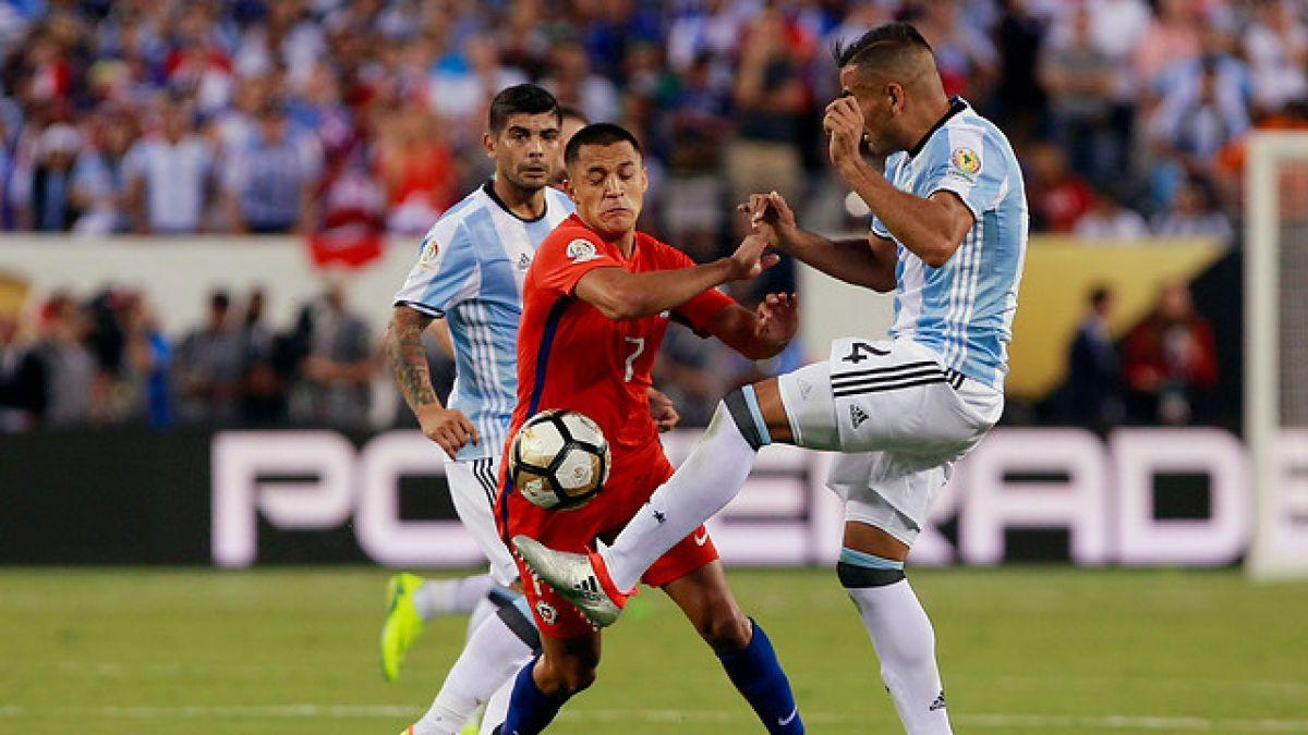 [FOTO] Así quedó el tobillo de Alexis Sánchez tras la Copa Centenario