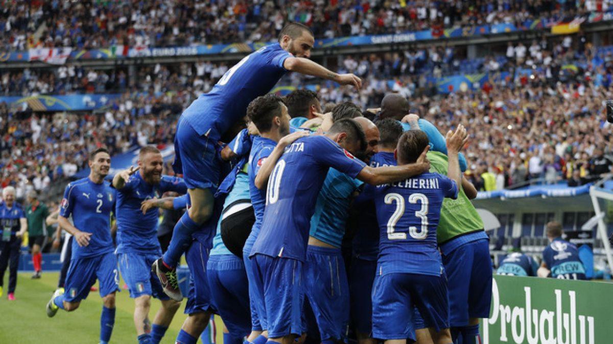 Italia da el golpe: vence a España y jugará con Alemania en cuartos de la Euro