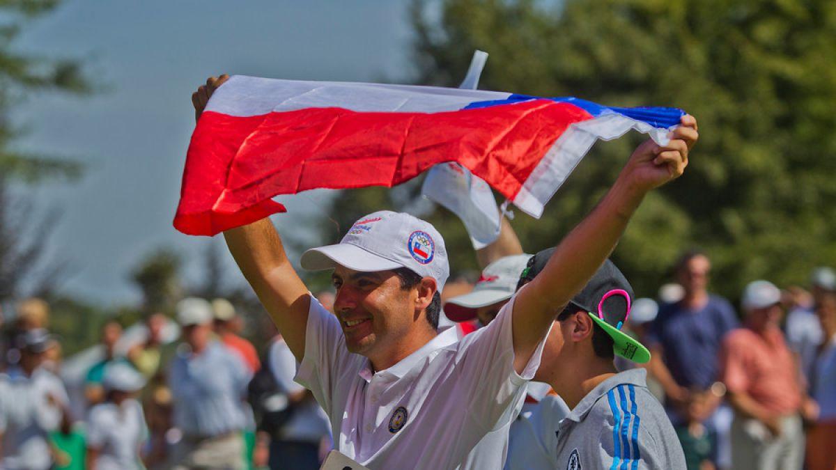 Otro chileno más a Río: Golfista Felipe Aguilar clasificó a los Juegos Olímpicos