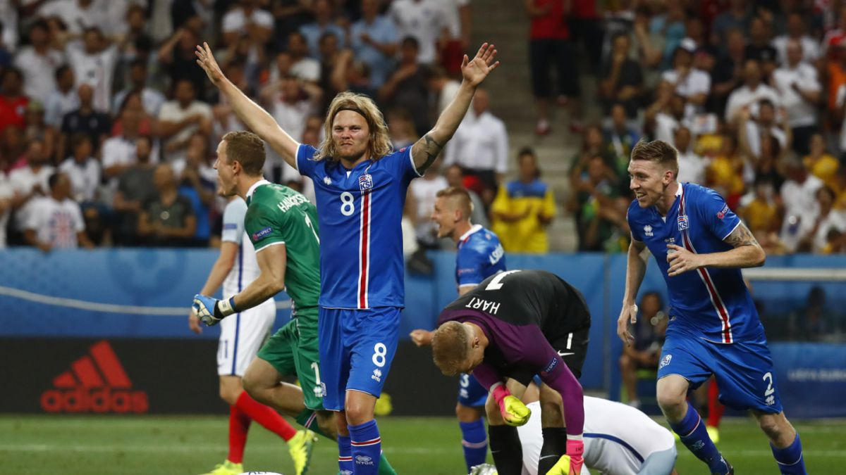 Islandia remonta a Inglaterra y sigue haciendo historia en la Euro