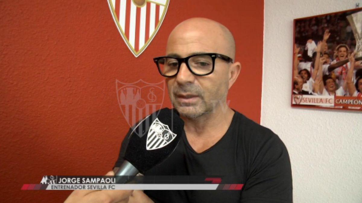 Jorge Sampaoli será presentado este lunes como nuevo director técnico de Sevilla