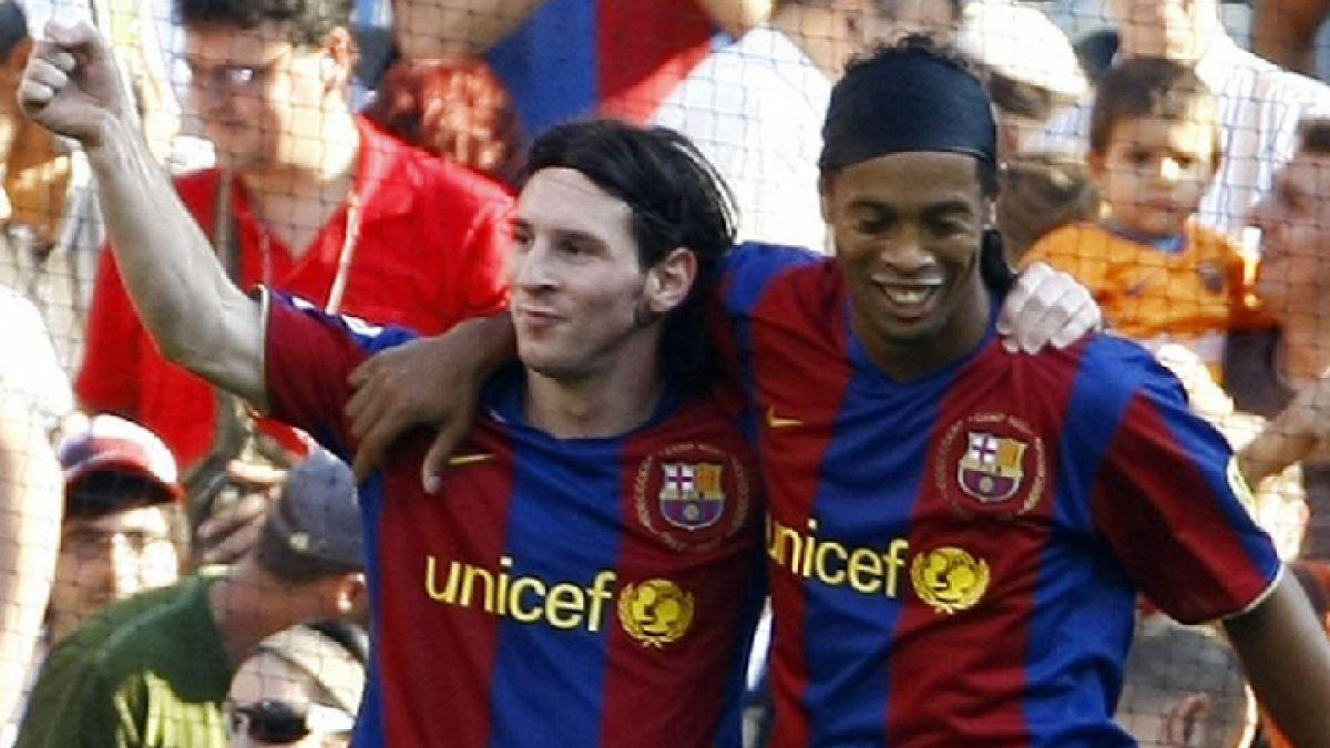 """Ronaldinho ante el retiro de Messi de la selección: """"Lo van a extrañar, es el mejor del mundo"""