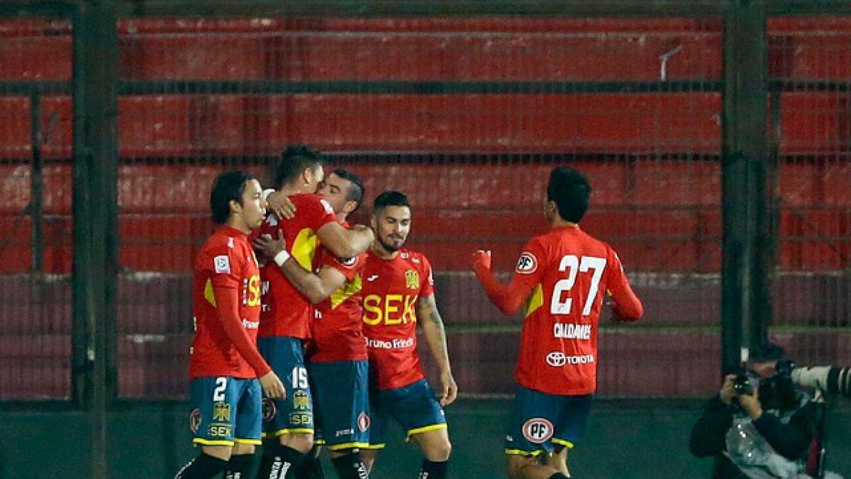 Martín Palermo logra un triunfal debut con Unión Española en amistoso internacional