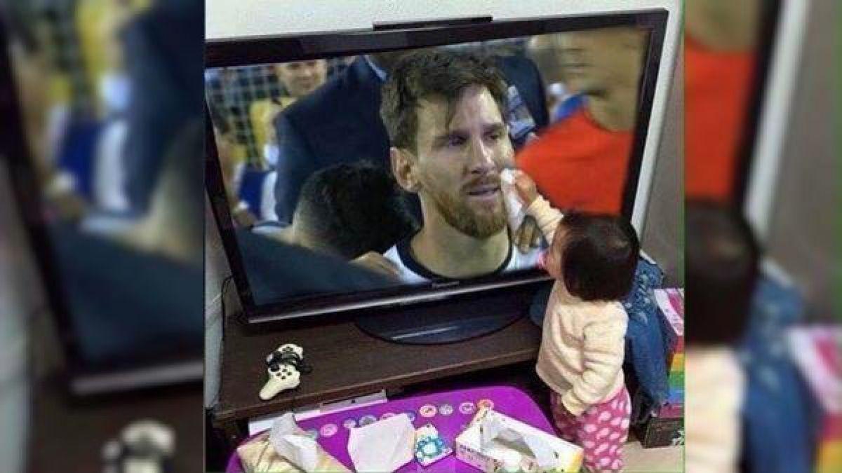 La imagen viral de Lionel Messi que es falsa, pero muchos siguen compartiendo en redes sociales
