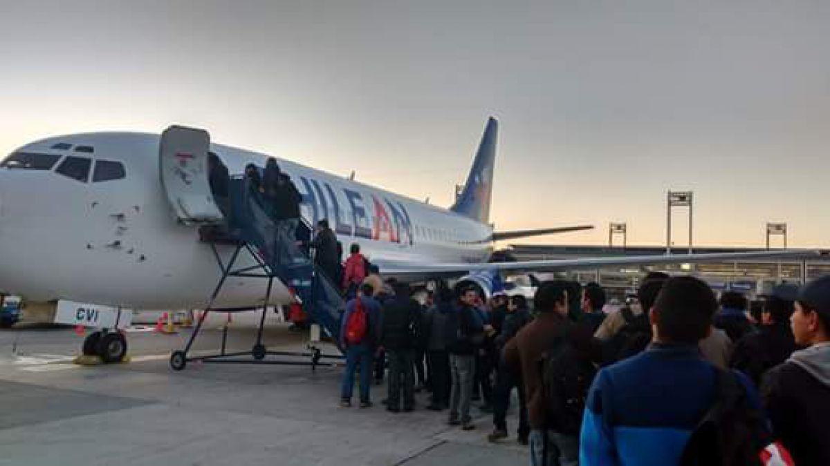 Chilean Airways SA.