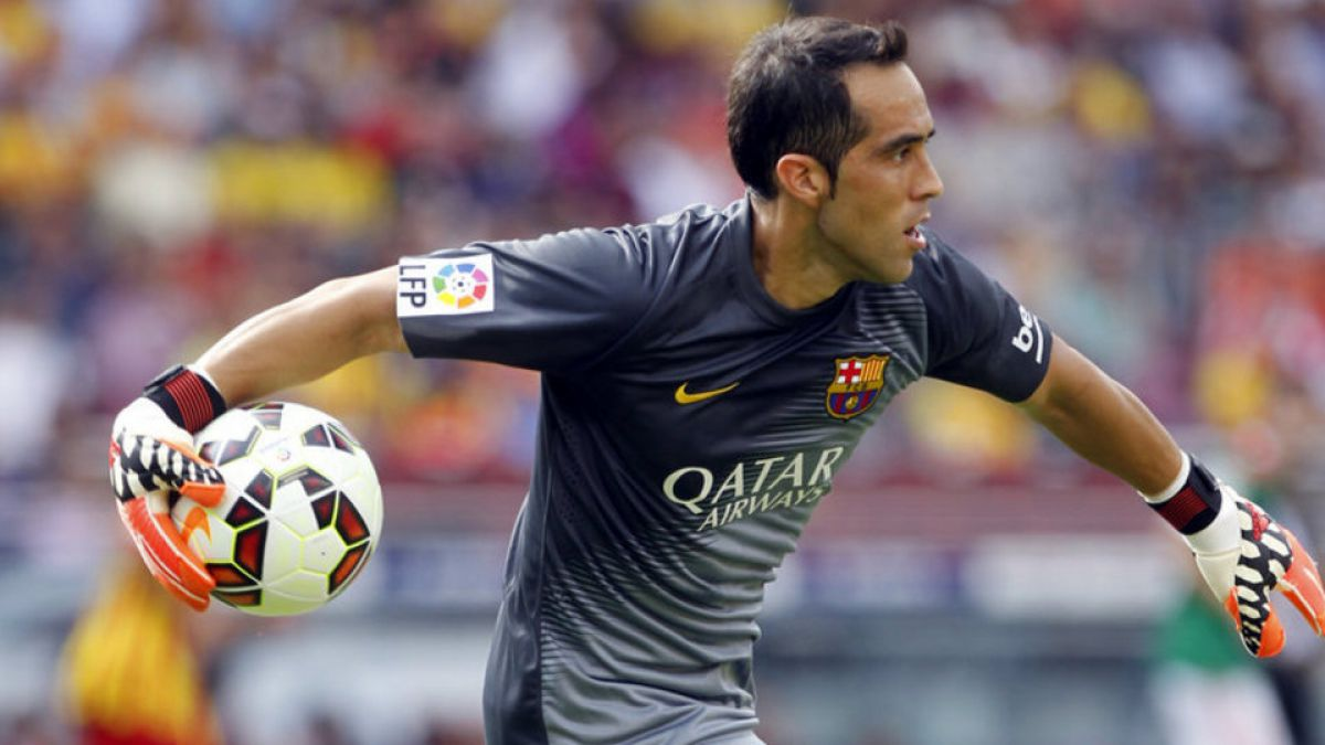 Manchester City ya tendría plan B en caso que Bravo siga en Barcelona