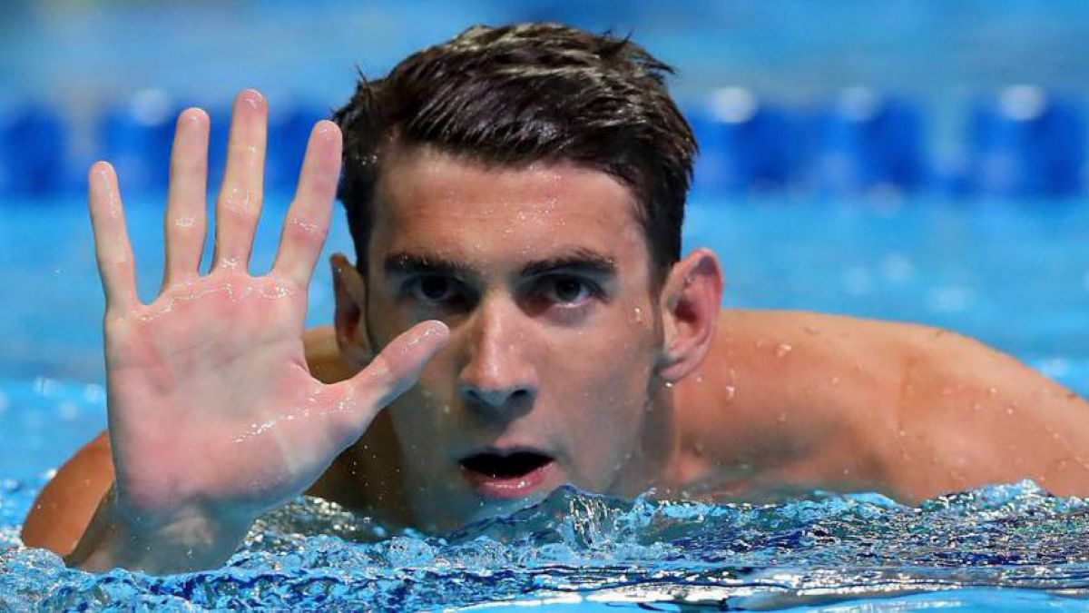 Phelps histórico: clasifica para Río 2016 y disputará su quinto Juego Olímpico
