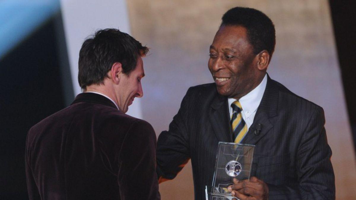 Pelé se une a las voces que piden a Messi que siga en la selección argentina