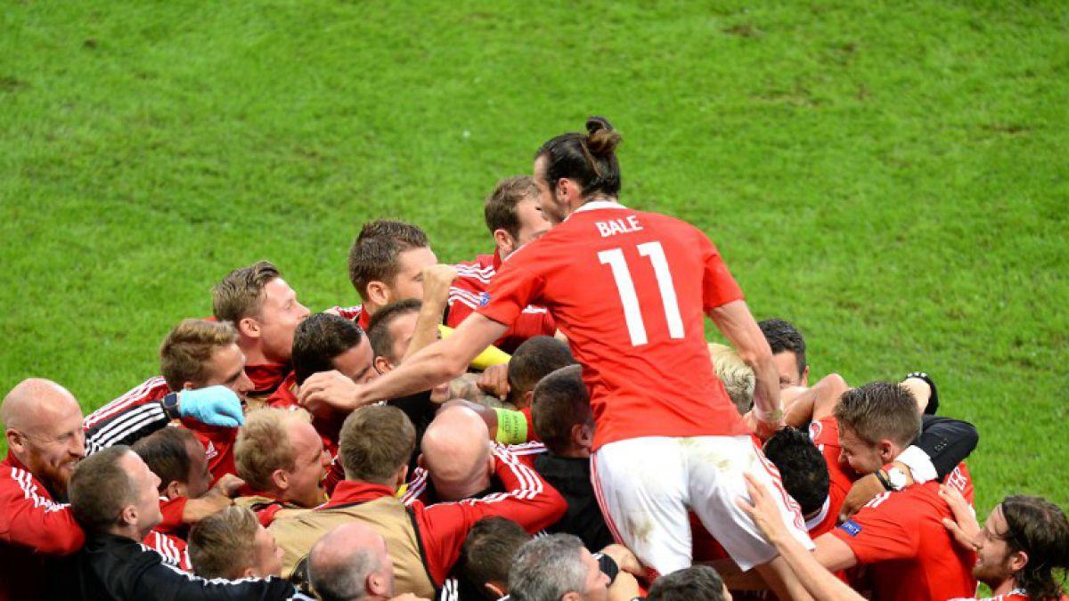 Gales avanza a semis al eliminar a Bélgica y sigue haciendo historia en la Euro