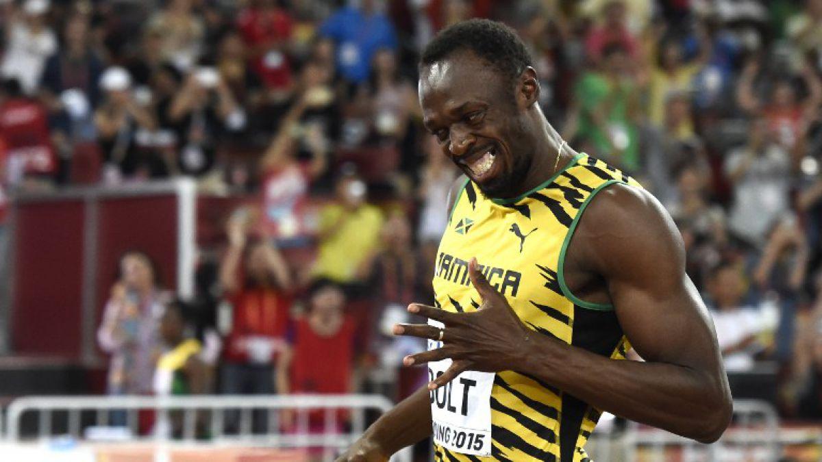 Usain Bolt podría venir a Chile en el marco de su gira de despedida