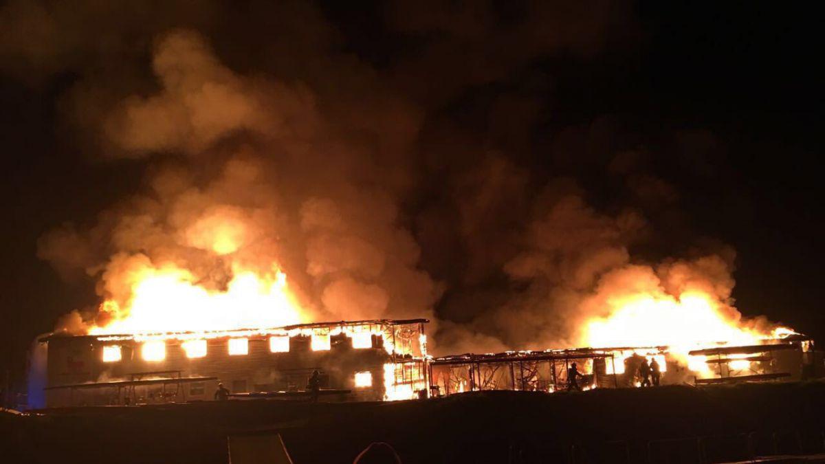 Incendio afecta Centro de Entrenamiento Olímpico de Curauma